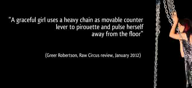 'When gravity looked the other way' with reviewer quote
