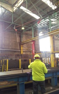 load testing Steel and Tube